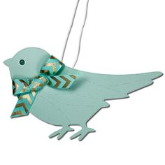 JMRush Designs: Stitched Bird Hanging Decoration