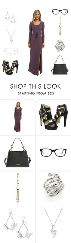"""""""20180105"""" by olivianakamura ❤ liked on Polyvore featuring Alternative, MICHAEL Michael Kors, Ray-Ban, Michael Kors and BERRICLE"""