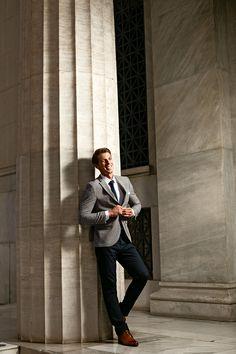 Σακάκι γκρι-μπλε μικροσχέδιο κωδ:1445 - Γαμπριάτικα κοστούμια ΘεσσαλονίκηΓαμπριάτικα κοστούμια Θεσσαλονίκη Suits, Style, Fashion, Swag, Moda, Fashion Styles, Fasion, Suit, Costumes