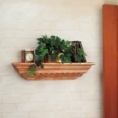 "Shelf Gold Polyurethane, 24"" Shelf by The Renovators Supply. $99.00. Measures 2 feet long. Lightweight & easy to install. Authentic genteel Georgian styling. If you don't get organized now, when will you?. Easy to install and beautiful! Use it as is or paint it to match your decor. This shelf comes with everything you need to hang it up, and it measures 24 long."""