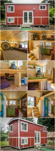 "Oregon City Woman Designs Completely Customized Dream Tiny House - Masha of Oregon City, Oregon has been fascinated with the tiny house movement since she first heard about it. She even took it for a ""test drive"" by renting one through Airbnb before making the leap to build her own. Once she decided it was time to move into her own home, she worked with an architect to design a completely custom and unique home that worked for her lifestyle."