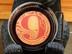 Beer Belt Buckle Magic Hat Brewing Number 9 handcrafted by BrewPaw, $28.99