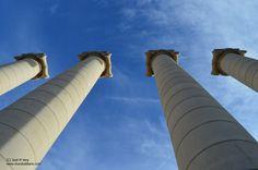 Cuatro columnas Barcelona, Spain, Summer, Life, World, Columns, Entrance Halls, Architecture, Places