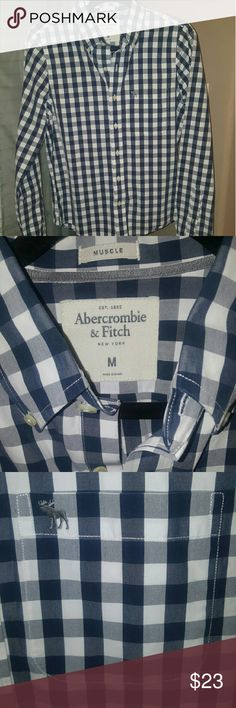 SALE-Men's perfect condition Abercrombie and Fitch Just Marked Down!  Abercrombie and Fitch Button Down Shirt - like new Abercrombie & Fitch Shirts Casual Button Down Shirts