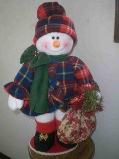 Muñecos de nieve cariño