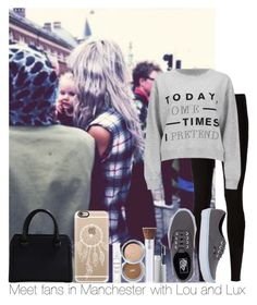 """Meet Fans In Manchester With Lou And Lux ( Read Description Girls )"" by hazzgirl03 ❤ liked on Polyvore featuring beauty, Rick Owens Lilies, Cheap Monday, Vans, Casetify, Victoria Beckham and PurMinerals"
