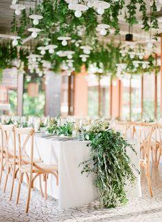 Organic destination wedding: Flowers: IAMFLOWER - http://www.iamflower.co Wedding Venue: Sri Panwa  - http://www.stylemepretty.com/portfolio/sri-panwa- Photography: Vasia Photography - vasia-weddings.com   Read More on SMP: http://www.stylemepretty.com/2017/02/28/this-just-might-be-the-prettiest-ceremony-spot-youll-ever-lay-eyes-on/