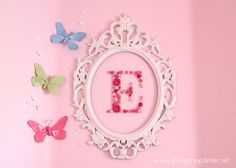 framed initial