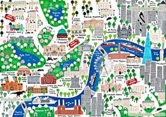 London children map in English London top tourist attractions map : New Zone