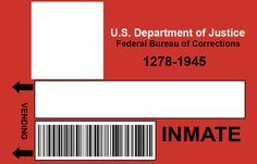Kate - you could all put your own pictures on and print these out! Orange Is The New Black Inmate Badge Template by lauren-campbell.deviantart.com on @deviantART
