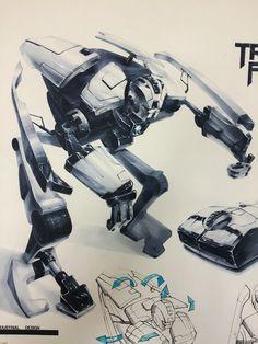 Robot marker rendering