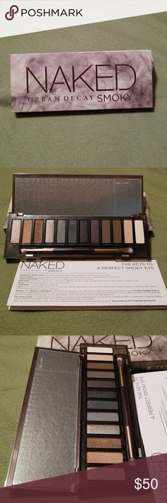 Urban Decay Smoky Eye Shadow Palette BNIB Urban Decay Smoky Eye Shadow Palette. Urban Decay Makeup Eyeshadow