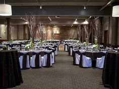 Reception location - Cityscape Events, Kalamazoo. Loved the exposed brick wall, loved that it was modern with a cozy feel.