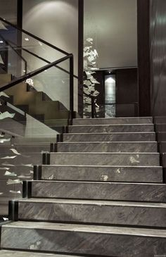 93 Stunning Modern Entrance Staircase Design Ideas - Breathtaking Modern Entrance Staircase Style and Style Thoughts - the Conspiracy Conventional will not need to suggest monotonously. Some modern-day Marble Staircase, Tile Stairs, Interior Staircase, Metal Stairs, Staircase Railings, Stairs Architecture, Modern Stairs, House Stairs, Staircase Design
