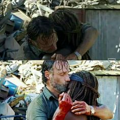 The Walking Dead 7x12 'Say Yes' Rick Grimes