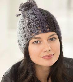 Crochet Hat | FREE Pattern for Crochet Hats | Free Crochet Patterns | Urban Shadows Hat