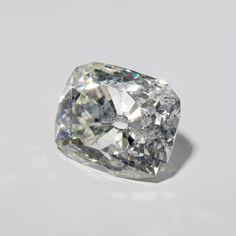 The Banjarmasin Diamond, c. 1875, rectangular-shaped diamond, 36 carats, w 7.65gr × l 2.1cm × w 1.7cm × h 1.4cm. NG-C-2000-3. On loan from the Ministerie van Koloniën, 1902. Rijksmuseum, Amsterdam.