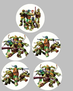 FREE Teenage Mutant Ninja Turtle Birthday Party Printables