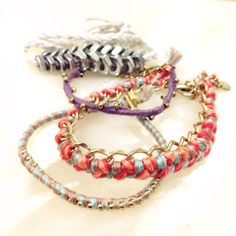 DIY bracelets of the week!