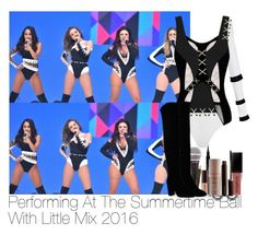 """Performing At The Summertime Ball With Little Mix 2016"" by lauren-beth-owens ❤ liked on Polyvore featuring Wolford, MOEVA, Givenchy, Smashbox, Laura Mercier, littlemix, jadethirlwall, JesyNelson, perrieedwards and leighannpinnock"