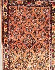 Sarogh,Persien ca 151 x 103 cm. Flor Wolle.