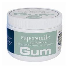 Supersmile Professional Whitening Gum keeps breath fresh and clean! The yummy taste will entice mom and your entire family!