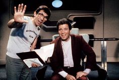 just-a-melancholy-dream:    hotpotofcoffee:    behind the scenes Star Trek III, with Nimoy directing.