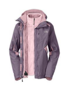 The North Face Women's Jackets & Vests WOMEN'S BOUNDARY TRICLIMATE JACKET...or this