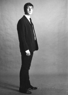 John Lennon, Rhythm Guitar - thanks Anto Irenn• • - THANKS - i like your pin - wow - fantastic photo  - my favorite band - thanks thanks thanks - i like - i love - i want your pin