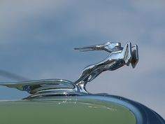 1931 Chrysler hood ornament..Brought to you by #CarInsurance Agents at #houseofinsurance in Eugene, Or.