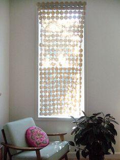diy project: chela's fabric screen – Design*Sponge Diy Arts And Crafts, Diy Crafts, Diy Window Shades, Decorating Your Home, Diy Home Decor, Diys, Screen Design, Diy Curtains, Felt Diy
