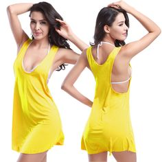 Hot Model Vintage 2016 Fashionable O neck Design Victoria Women swimsuit Summer Beach Cover up dress Swimwear Tunic Beachwear