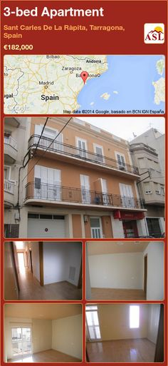 3-bed Apartment in Sant Carles De La Ràpita, Tarragona, Spain ►€182,000 #PropertyForSaleInSpain