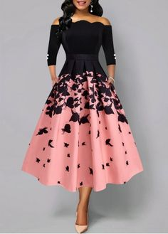 Party Dresses For Women Butterfly Print Button Detail Scalloped Hem Dress Trendy Dresses, Tight Dresses, Elegant Dresses, Cute Dresses, Vintage Dresses, Beautiful Dresses, Casual Dresses, Short Dresses, Black Dresses For Women