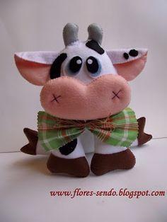 Cow #cow #felt #DIY