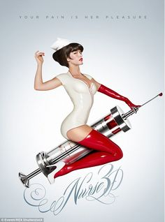 Over two years ago, a provocative poster for the bloody thriller Nurse featured a nude Paz De La Huerta covered in blood. Back then the film was a Pin Up Posters, Movie Posters, Mode Pin Up, Katrina Bowden, Pin Up Girl Vintage, Vintage Pins, Movies 2014, Film 2014, 2012 Movie