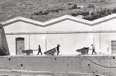Pepi Merisio: La tonnara di Favignana (Trapani), 1979