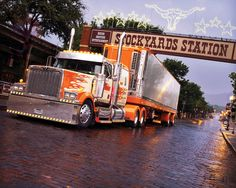 Western Star Constellation at Stockyards Station in Fort Worth, Texas