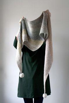 HORISONT scarf // knitting kit // by Susie Haumann // www.g-uld.dk