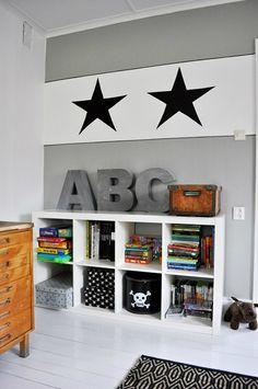 gray boys' room