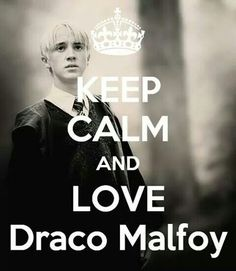It's even better for me keep calm and ship drarry :)