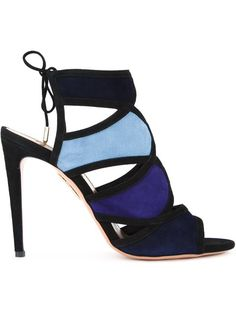 Shop Aquazzura 'Vika' sandals in Veritas from the world's best independent boutiques at farfetch.com. Shop 400 boutiques at one address.