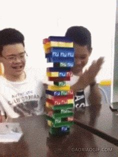 Jenga win!!   funny gif picture/ prom dresses/ homecoming dresses/ party dresses /wedding dresses https://www.etsy.com/shop/TonyTony10007