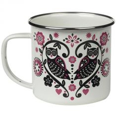 Love this - would be great for camping - Folklore Enamel Mug   Folklore   Shop by Collection   Wild & Wolf