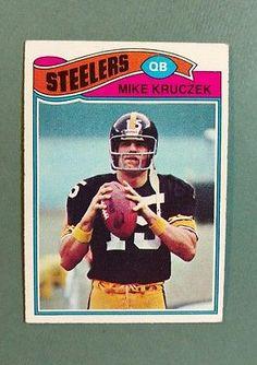 1977 Topps Mike Kruczek Pittsburgh Steelers Football Card for sale online Pittsburgh Steelers Football, Pittsburgh Sports, Football Girls, Dallas Cowboys, Creepy Urban Legends, Star Trek Posters, Nfl History, Steeler Nation, Minnesota Vikings