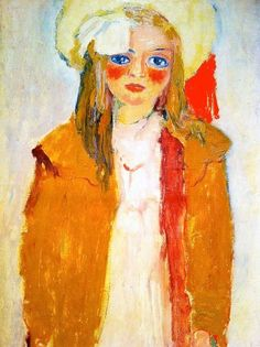 Portrait of Dolly, by Kees van Dongen, ar. Old Masters at the Courtauld Gallery Rotterdam, Art Fauvisme, Maurice De Vlaminck, Raoul Dufy, Orange Art, Van Gogh Museum, Painter Artist, Dutch Painters, Georges Braque