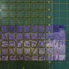 Tutorial-How To Make A Bargello From A Fabric Strip Run