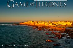 """Essaouira in Morocco as Astapor - """"Game of Thrones"""" Adventure: Top 5 Places Where It All Happened Holiday Destinations, Vacation Destinations, Vacation Spots, Game Of Thrones Locations, Filming Locations, Malta, Luxury Travel, Morocco, Travel Guide"""