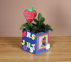Teacher Appreciation Planter - For the kids to make!