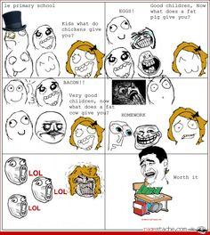 LOL - Other - Aug 20, 2012 - Rage Comics - Ragestache